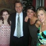 Dr. Dougherty, Meredith, Christy, and Erin
